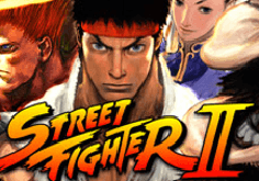 Street Fighter Ii Pokie Logo