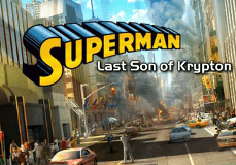 Superman Last Son Of Krypton Pokie Logo