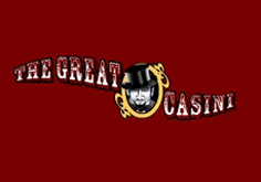 The Great Casini Pokie Logo