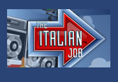 The Italian Job Pokie Logo
