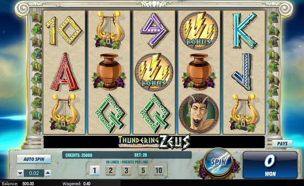 Spiele Thundering Zeus - Video Slots Online