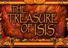 Treasure Of Isis Pokie Logo