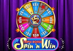 Triple Bonus Spin 8216n Win Pokie Logo