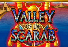 Valley Of The Scarab Pokie Logo