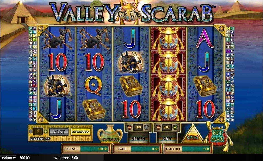 Valley Of The Scarab Pokie