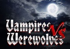 Vampires Vs Werewolves Pokie Logo