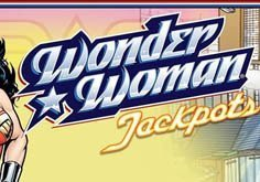 Wonder Woman Jackpots Pokie Logo