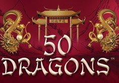50 Dragons Pokie Logo