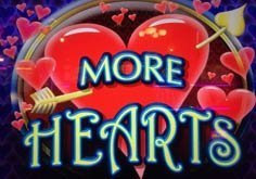 More Hearts Pokie Logo