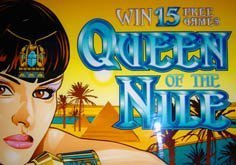 Queen Of The Nile Pokie Logo