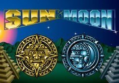 Sun 038 Moon Pokie Logo