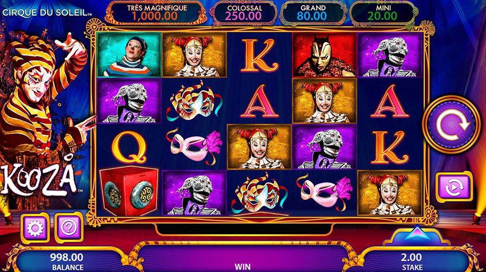 Spiele Cirque Du Soleil Kooza - Video Slots Online