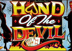 Hand Of The Devil Pokie Logo