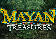 Mayan Treasures Pokie Logo