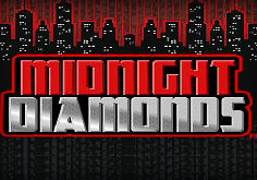 Midnight Diamonds Pokie Logo