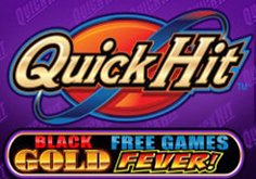 Quick Hit Black Gold Pokie Logo