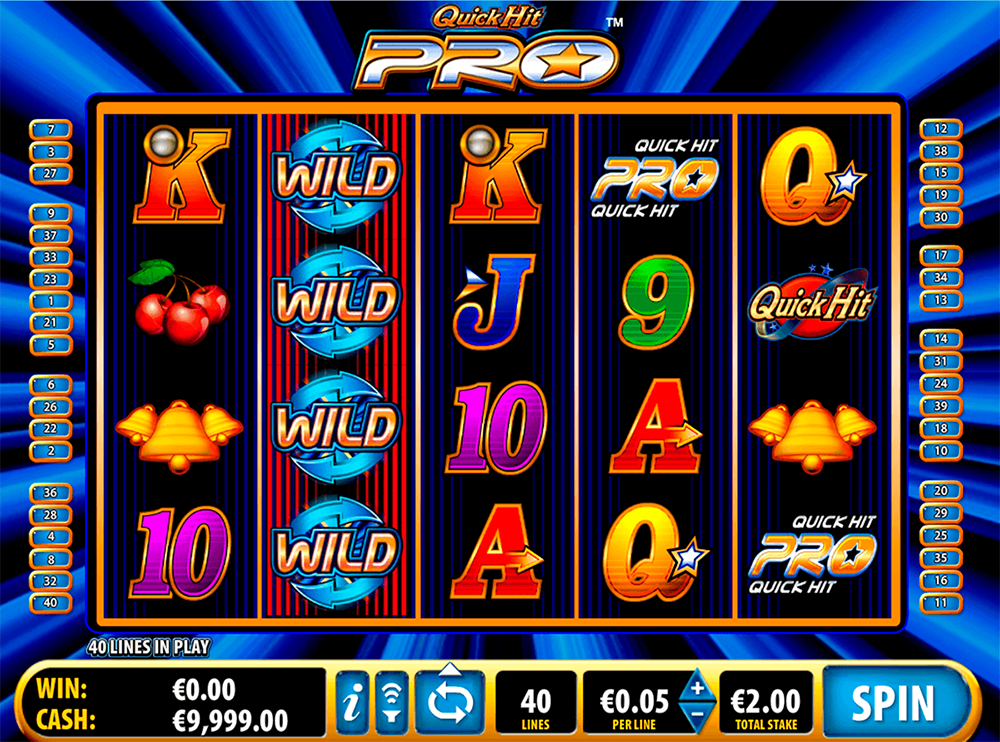 Quick Hit Pro Pokie