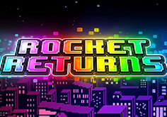 Rocket Returns Pokie Logo