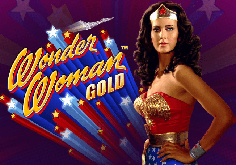 Wonder Woman Gold Pokie Logo