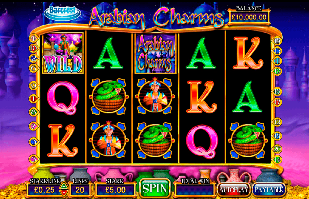Arabian Charms Pokie