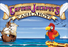 Captain Jackpots Cash Ahoy Pokie Logo