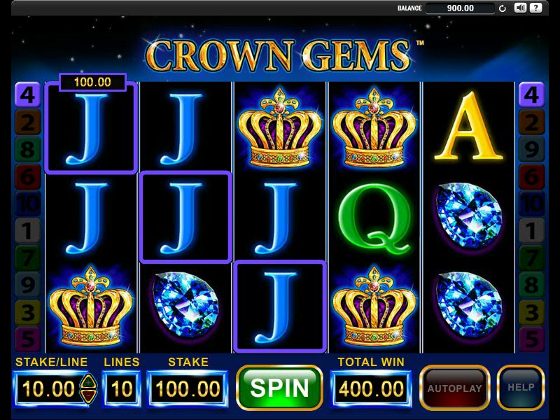 Crown Gems Pokie