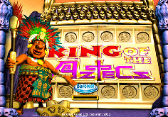 King Of The Aztecs Pokie Logo