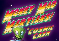 Money Mad Martians Cosmic Cash Pokie Logo