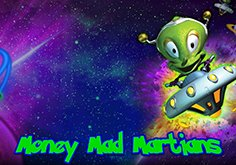 Money Mad Martians Pokie Logo