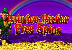 Rainbow Riches Free Spins Pokie Logo