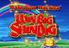 Rainbow Riches Win Big Shindig Pokie Logo