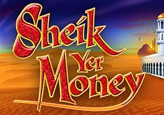 Sheik Yer Money Pokie Logo