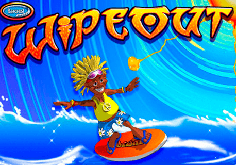 Wipeout Pokie Logo