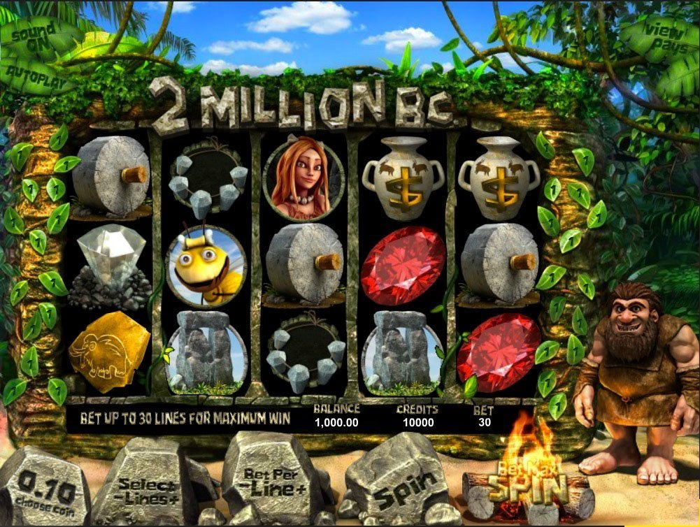 2 Million B C Pokie