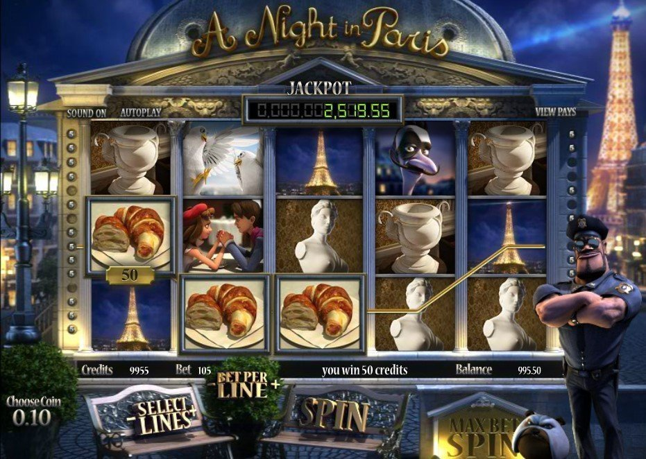A Night In Paris Pokie