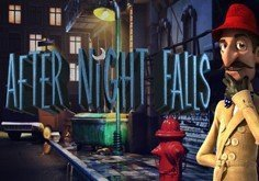 After Night Falls Pokie Logo