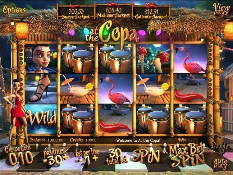 At The Copa Pokie