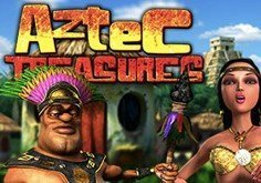 Aztec Treasure Pokie Logo