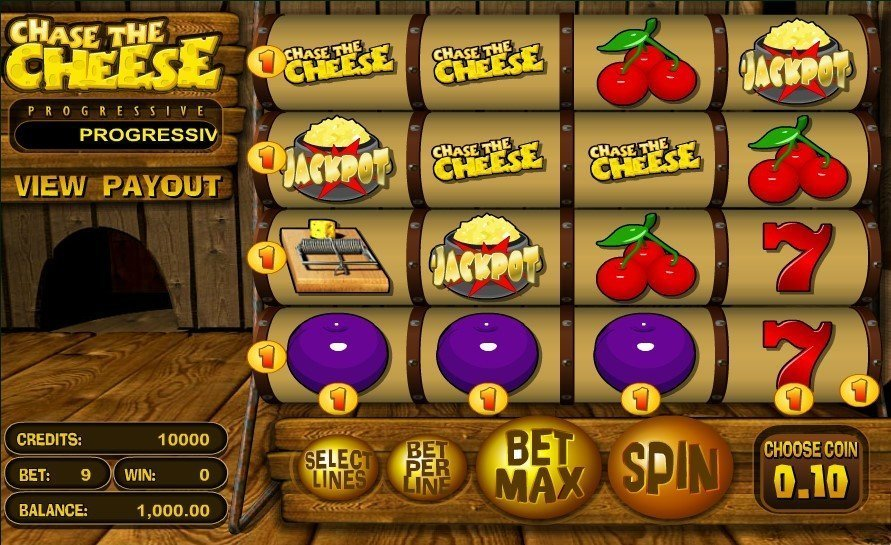 Chase The Cheese Pokie