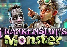 Frankenslots Monster Pokie Logo