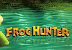 Frog Hunter Pokie Logo