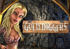 Gold Diggers Pokie Logo