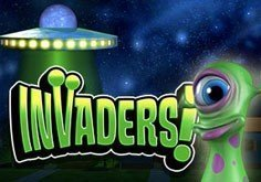 Invaders Pokie Logo