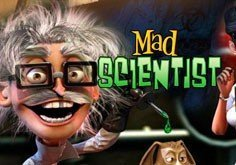 Mad Scientist Pokie Logo