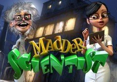 Madder Scientist Pokie Logo