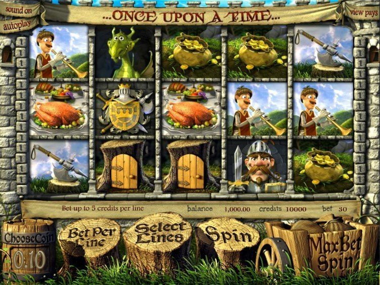 Once Upon A Time Pokie
