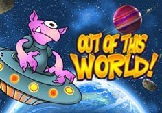 Out Of This World Pokie Logo