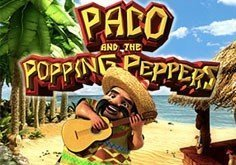 Paco And The Popping Peppers Pokie Logo