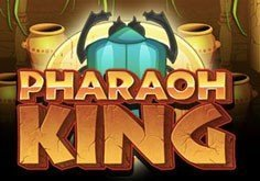 Pharaoh King Pokie Logo