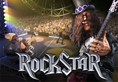 Rock Star Pokie Logo